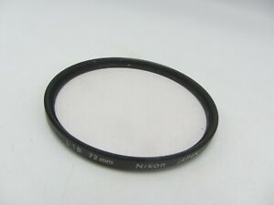 Genuine Nikon L1B 72mm Screw-In Camera Lens Filter