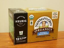 Newman's Own Organic Special Blend Medium Roast Coffee Keurig K-Cup 12 Pods
