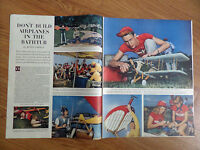 1950 Photo Article Ad 500 Model Plane Pilots Gather International in Detroit