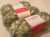 3 SKEINS PREMIER YARN BY ISAAC MIZRAHI! SHEEP MEADOW 3.5 OZ  WOOL BLEND