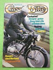 CLASSIC BIKE - April 1987 - 750cc Moto Guzi S3 - BSA B50 - Motorcycle Magazine