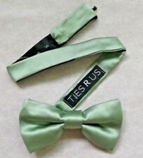 Vintage Bow Tie MENS Dickie Bowtie Adjustable Retro PALE GREEN