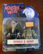 2003 Monster Met-Itz Dracula & Mummy by Mezco Toy with original Store Price Tag