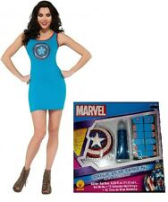 AMERICAN DREAM DRESS & MAKEUP KIT Medium Adult Women Marvel Cosplay ComicCon NEW