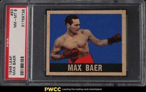 1948 Leaf Boxing Max Baer #93 PSA 8 NM-MT