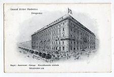 C003905      BERGAMO   GRAND  HOTEL  MODERNO   VG  1922