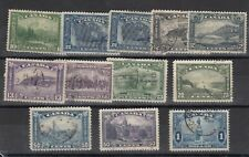 Canada KGV 1927 Collection Of 12 To $1 Fine Used J9992