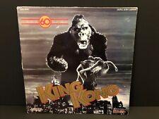 King Kong LaserDisc 60th Anniversary Turner Home 1933 RKO Fay Way Cover Rare