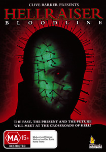 HELLRAISER 4 BLOODLINE - SUPER RARE CLIVE BARKER HORROR DVD (NEW & SEALED)