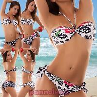Bikini donna costume da bagno mare fascia vari modelli due pezzi nuovo B2337