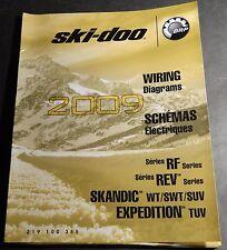 2009 SKI-DOO SNOWMOBILE WIRING DIAGRAMS RF, REV, SKANDIC, EXPEDITION MODELS