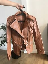 Faux Leather PU Jacket SiZe Medium M