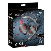 Speedlink Celsor Stereo Pc Gaming Headset With Flexible Microphone Boom Stereo