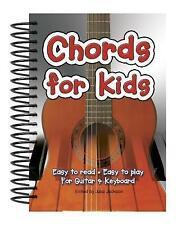 Chords for Kids: facile à lire-facile à jouer pour Guitare et Clavier par flamme tr