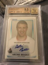 2011 Archie Bradley Bowman Chrome Auto BGS 9.5/10