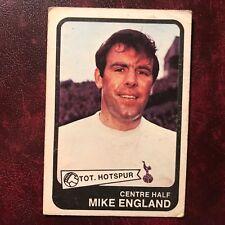 1968/69 A&BC Footballer Set MIKE ENGLAND #61 TOTTENHAM HOTSPUR SPURS - VG