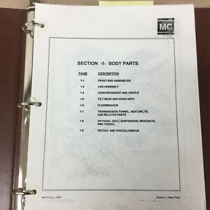 Master Craft FORD PARTS MANUAL BOOK CATALOG LIST FORK LIFT TRUCK GUIDE PM110