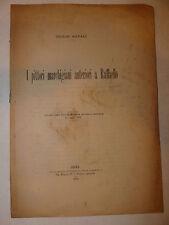Saggio Pittura Arte, G. Natali: Pittori marchigiani anteriori a Raffaello 1902