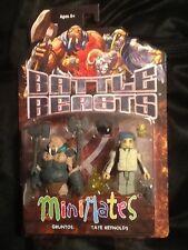 Battle Beasts Minimates S1 Gruntos and Tate Reynolds MINT