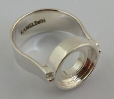 Authentic Kameleon Beads on Shoulder 925 Silver Ring Kr-17, Kr017  Size 8 New