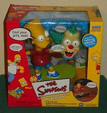 The Simpsons - Radio Control Skateboarding Bart Simpson - NEW