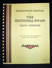 National NC-183 NC183 Radio Receiver Manual