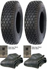 2 (TWO) 4.80/4.00-8 4.80-8 4 4.80X8 4808  4.00x8 4Ply Rated Stud Tires & Tubes