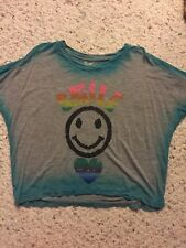 Flowers By Zoe Size Small Girls Layering Shirt Baggy Fit