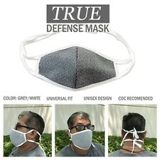 True Defense Face Mask - New reusable washable unisex PPE fast shipping USA