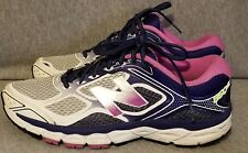 New Balance 860 v6 Womens Size 10 Wide (D) Running Shoes BLUE PURPLE WHITE