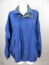 Nike Golf Size L Mens Blue Fit Full Zip Lightweight Windbreaker Jacket 721