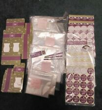 Scentsy Consultant Logo Bags 4 Sizes X 153 + other supplies boxs stickers look