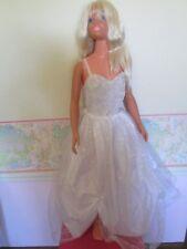 "1992 Mattel My Size/Life Size Barbie Doll 36"" Blonde Hair Blue Eyes 3' FeetTall"