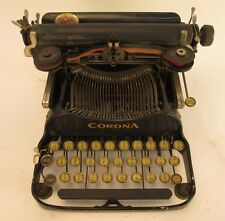 Vintage Corona 3 Portable Flip Top Typewriter 462339