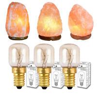 Himalayan Salt Lamp x3 15W Replacement Bulb E14 SES Pygmy Small Edison Screw