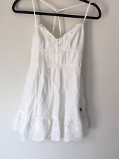 Girls Kids White Summer Dress Abercrombie And Fitch Size XL Beautiful