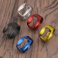 5 Pc Set Mixed Ring Beer Bottle Opener Stainless Steel Finger Thumb Waiter Tool