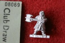 Games Workshop Lord of the Rings Gimli Fellowship Variant LoTR Metal Figure Mint