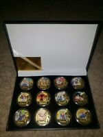 WORTH 24KT GOLD DRAGON BALL Z 12 PIECE COIN SET WITH COA! MINT! BRAND NEW!