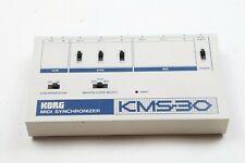 KORG KMS-30 MIDI SYNCHRONIZER DIN Tape Sync Box for TB-303 TR-808 etc