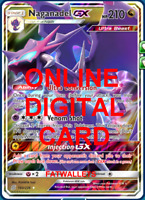 1X Naganadel GX 160/236 Unified Minds Pokemon TCG Online Digital Card