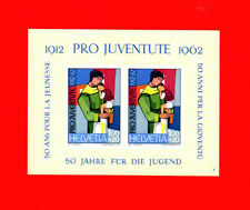Switzerland SCOTT# B323 Pro Juventute Youth Aid Swiss MNH Souvenir Sheet of 2