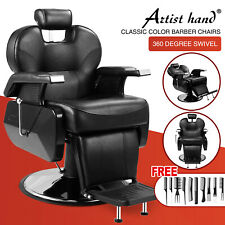 All Purpose Hydraulic Recline Barber Chair Salon Hair Styling Beauty Spa Shampoo