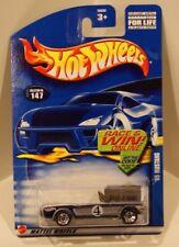 '65 Ford Mustang Convertible Hot Wheels 2002 Card #147 Silver 1965