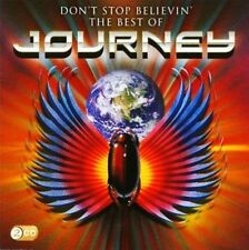 JOURNEY (2 CD) DON'T STOP BELIEVIN' : THE BEST OF ~ GREATEST HITS *NEW*