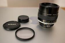 Nikon Nikkor ED 105mm f1.8 | AIS | Manual Focus