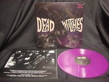 Dead Witches S/T Purple Vinyl NEW Pentagram Black Sabbath Kadavar Sleep Trouble