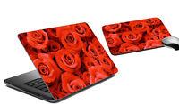 Roses Laptop Skin & Mousepad Vinyl Skins Universal Sticker Decal Covers