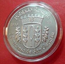 Peseta POBLADO ROSARIO 1830 San German & Mayaguez Puerto Rico 2018 Quarter 1/100