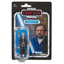 Star Wars Luke Skywalker (Crait) The Last Jedi Vintage Figure - Brand New